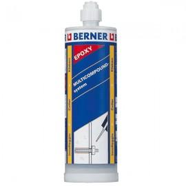 BERNER- CARTUCCIA RESINA 410 ml.
