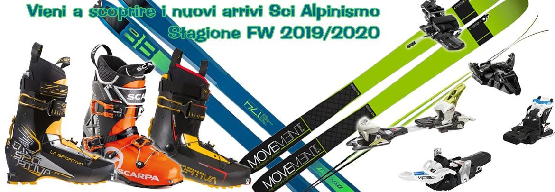 Vieni a scoprire i nuovi arrivi Sci Alpinismo! Stagione FW 2019/2020
